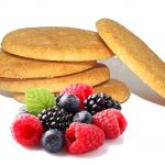 biscotti frutti rossi