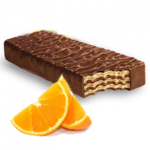 wafer arancia cioccolato